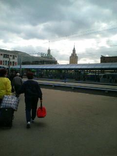 モスクワ到着【9月13日】